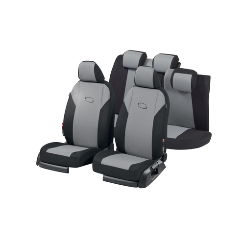 Car Seat Cover Set Premium Gray