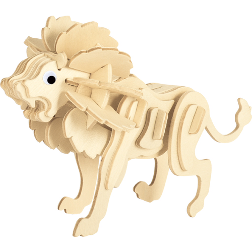 3d wooden puzzle lion lidl us