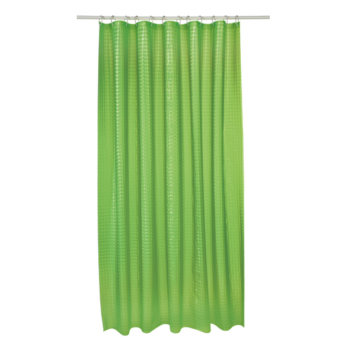 Shower Curtain Lime