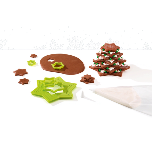 cookie cutter set christmas tree