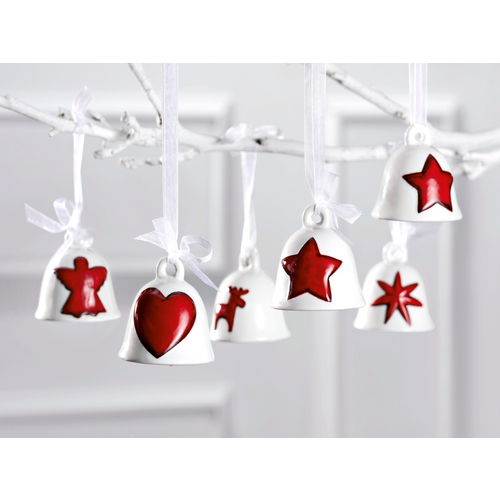 christmas bells - Ceramic Christmas Decorations
